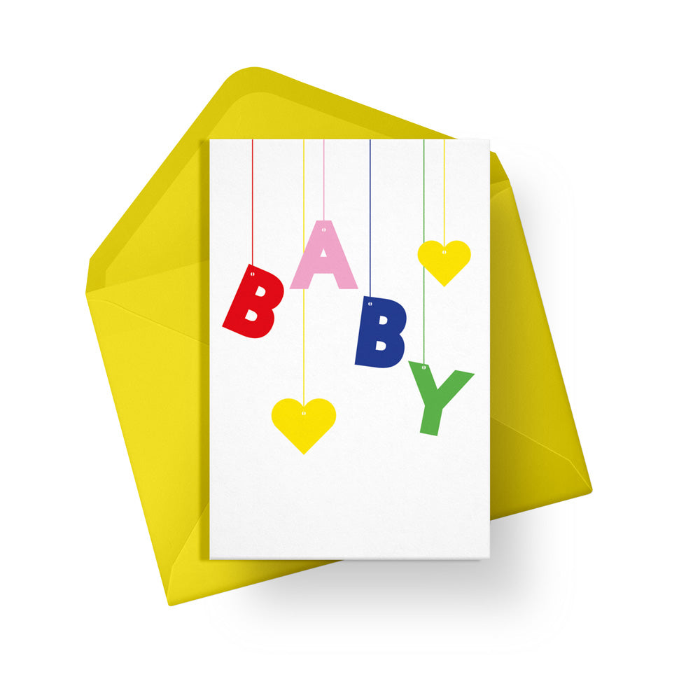 Baby Mobile Card - Loola Loves UK