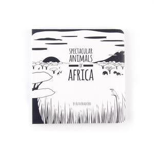 Spectacular Animals of Africa - Baby Book - Loola Loves UK