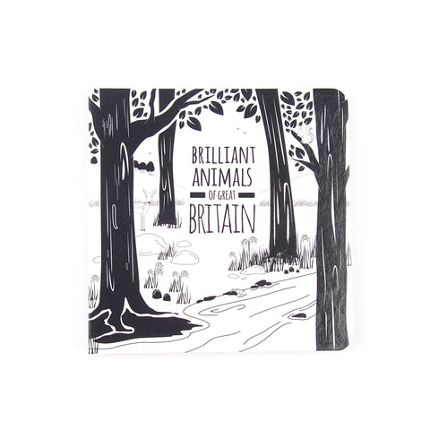 Brilliant Animals of Great Britain - Baby Book