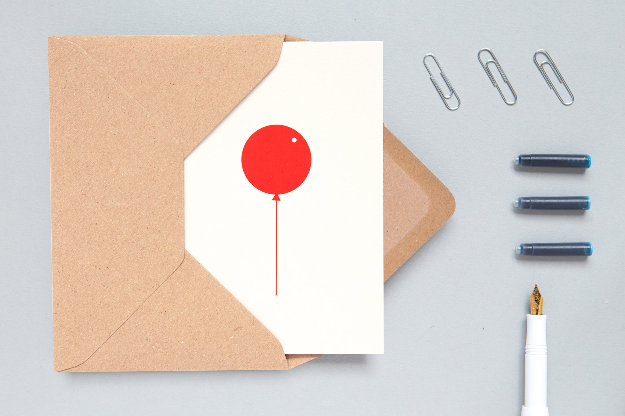 Red Balloon Card