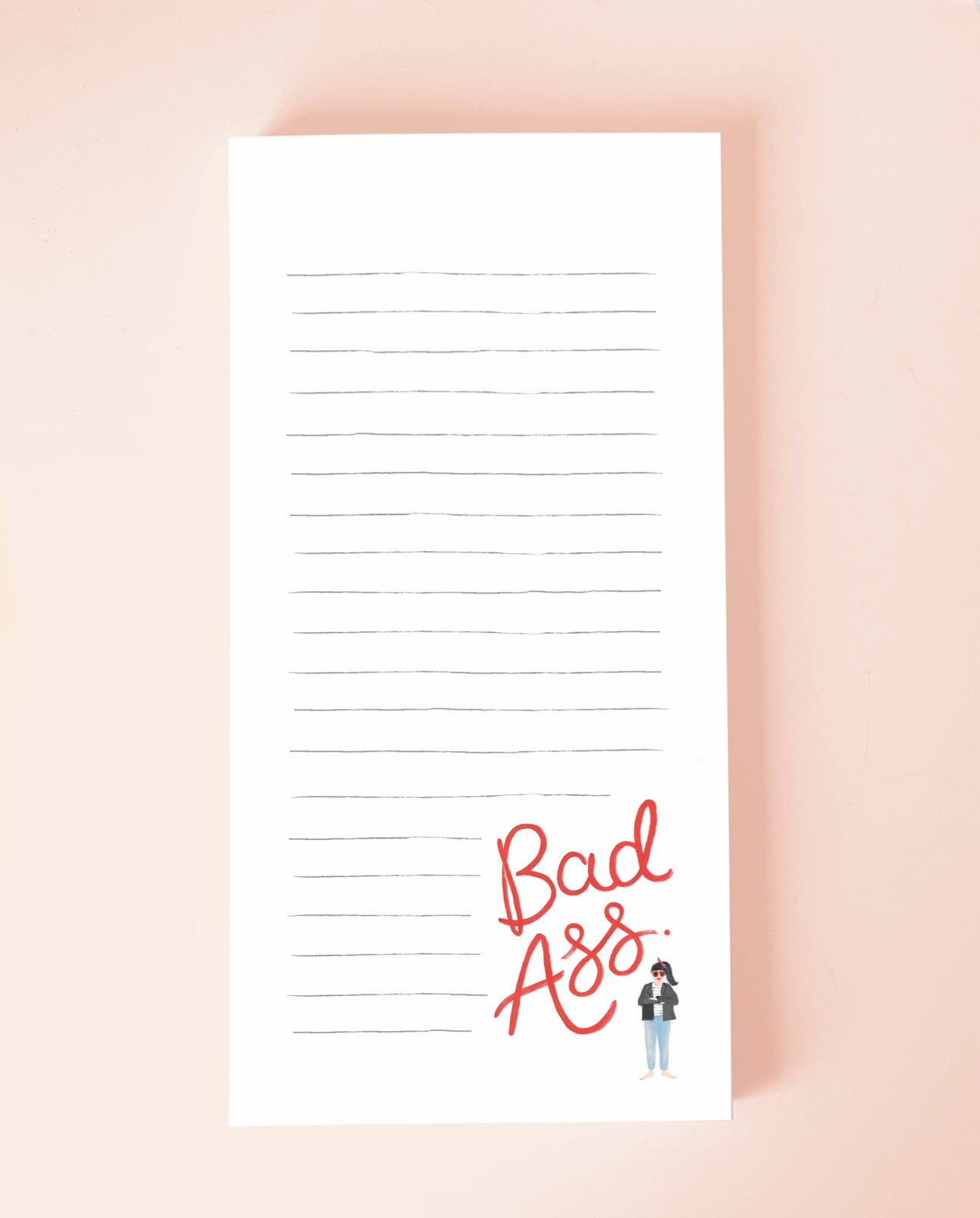 Bad Ass Notepad - Loola Loves UK