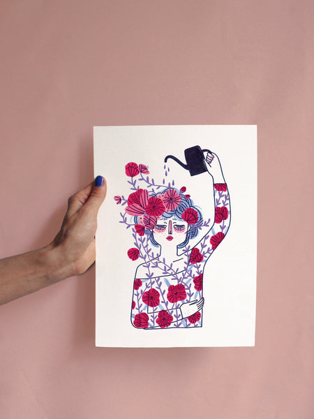 Bloom Print - A4 - Loola Loves UK