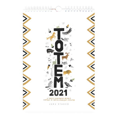 Totem 2021 Wall Calendar - Loola Loves UK