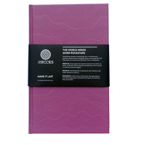 Rockbook Hardcover Notebook - 3 Colour Options - Loola Loves UK