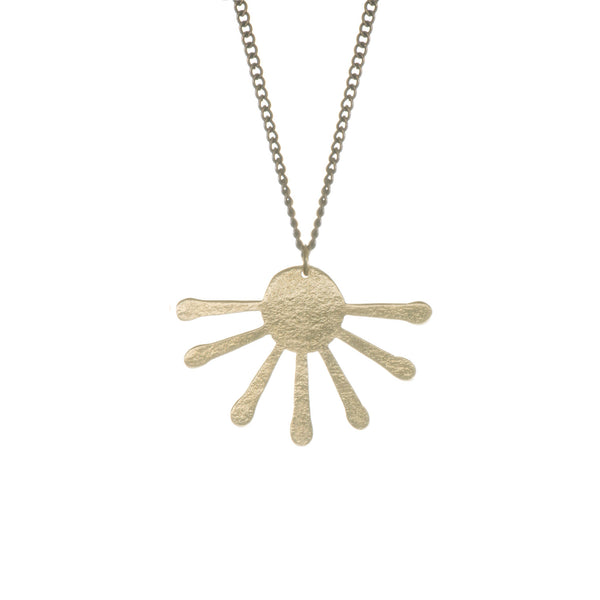 Inca Sun Burst Necklace - Loola Loves UK