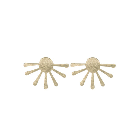 Inca Sun Burst Studs - Loola Loves UK
