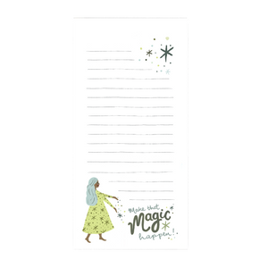 Make That Magic Happen! Notepad