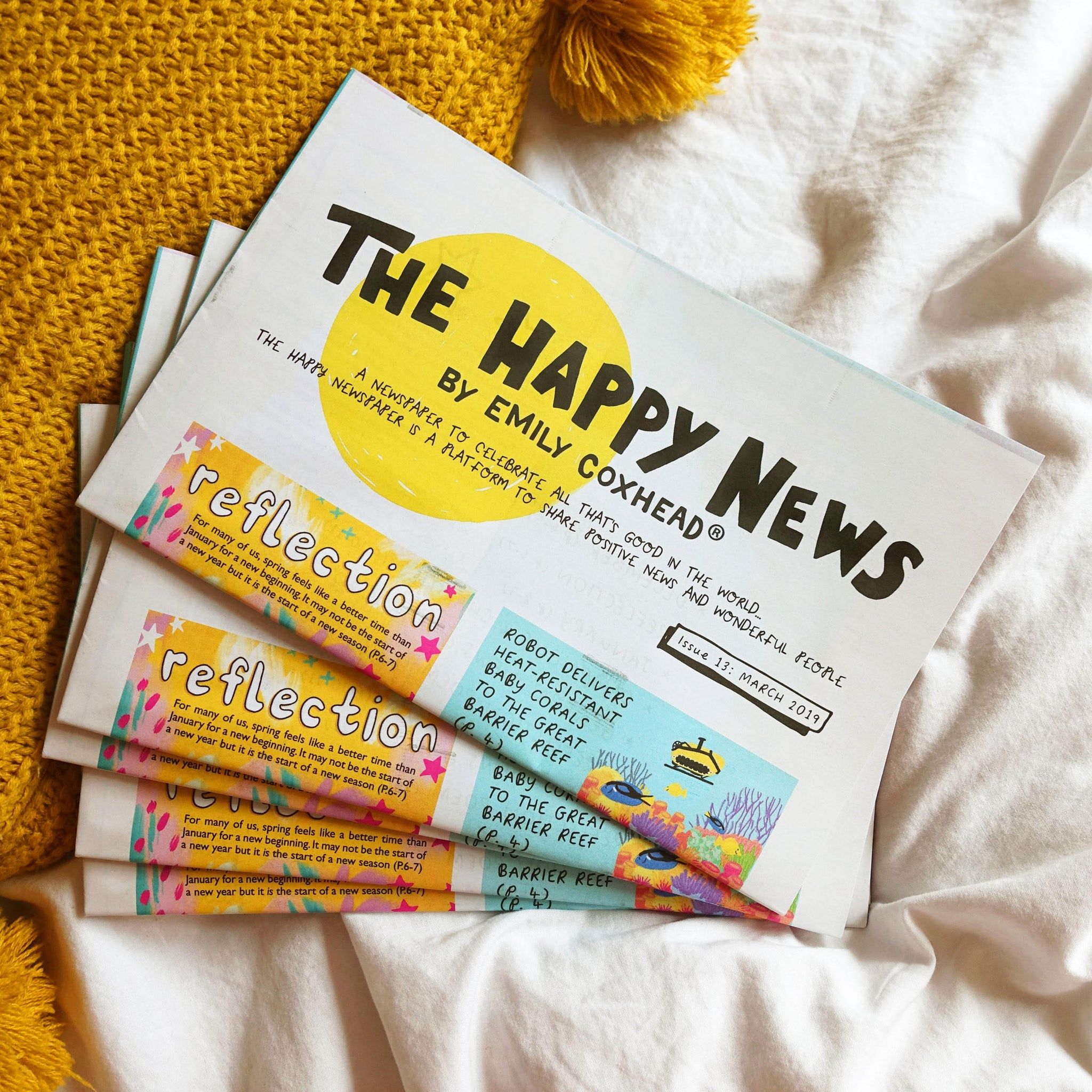 The Happy Newspaper - Issue 19