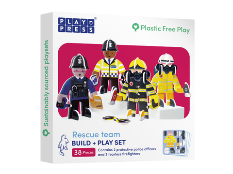 Rescue Team - Build & Play Set - Loola Loves UK