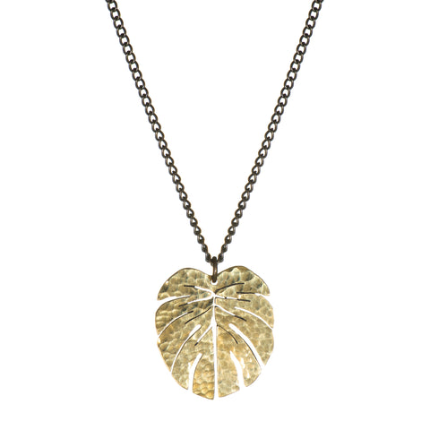 SOT Tropical Leaf Pendant - Small