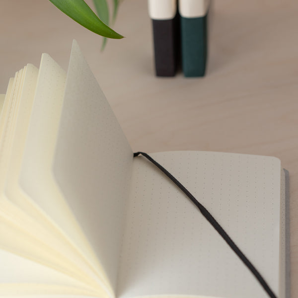 Sustainable 'Write' Notebook A6 (Dotted Paper) - Brown