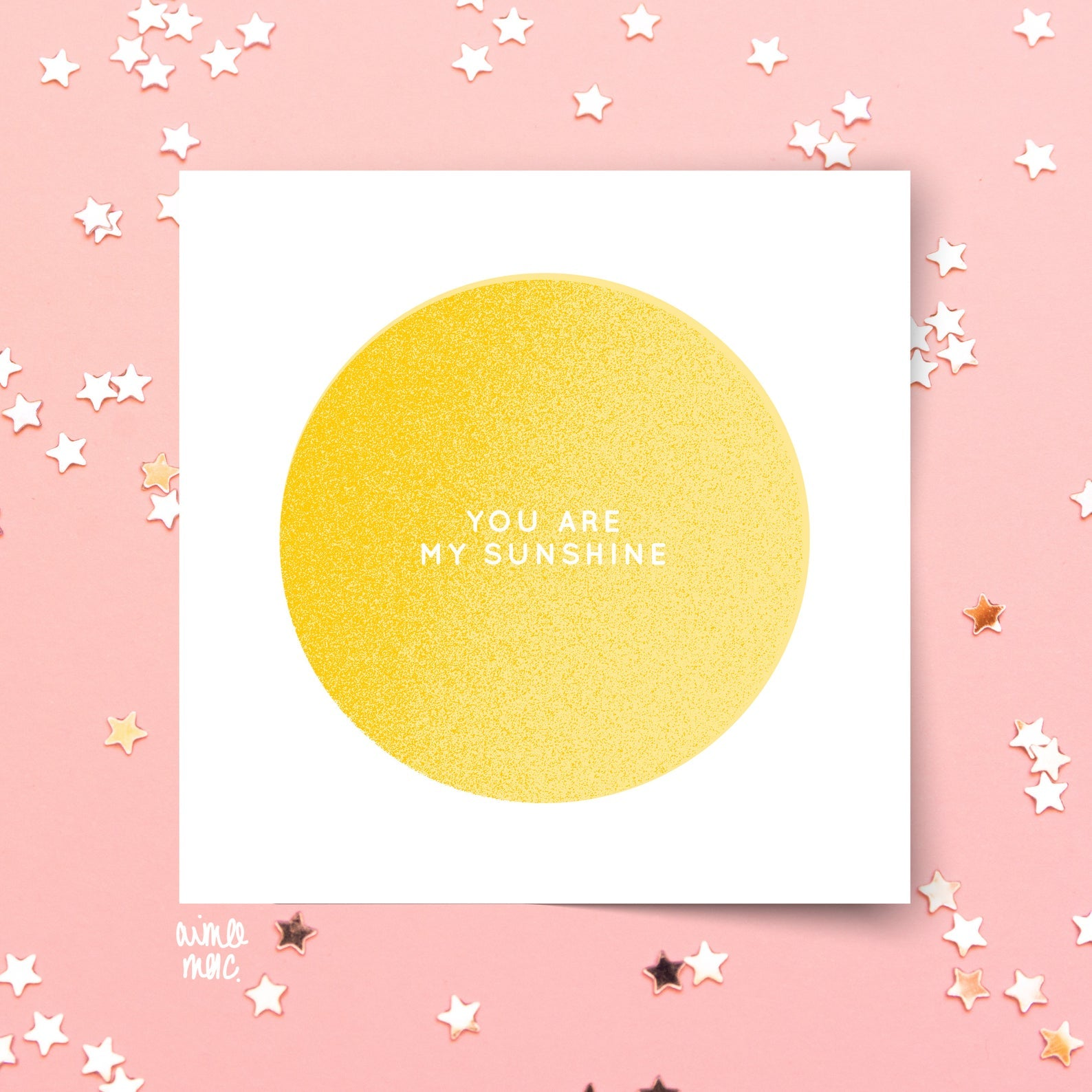 You Are My Sunshine Card - Loola Loves UK