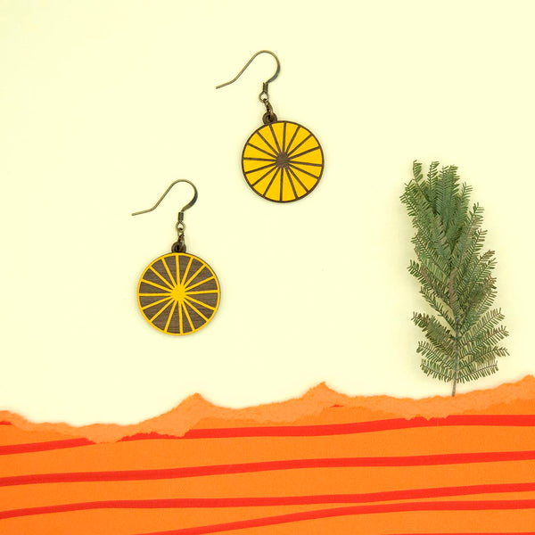 Sun Hook Earrings - Loola Loves UK