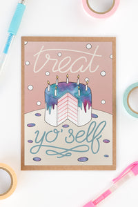 Treat Yo'Self Card - Loola Loves UK