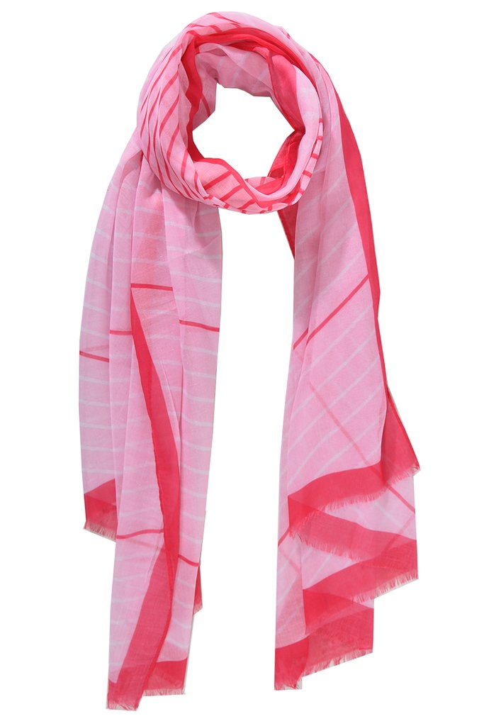 Red & Pink Scarf