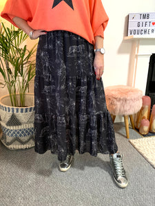 Tiered Tiger Skirt
