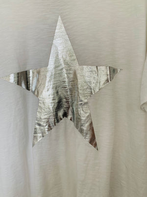 White Star Boyfriend Tee