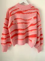 Cosy Coral Sweater