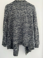 Textured Cardigan with Pockets