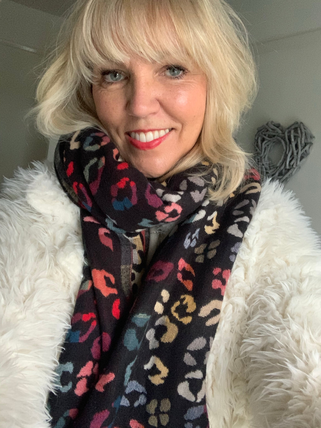 Soft Animal Print Scarf