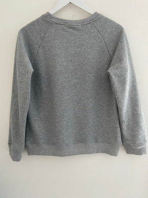 Silver Grey Star Sweatshirt