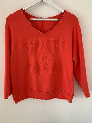 Coral Rock & Love Top