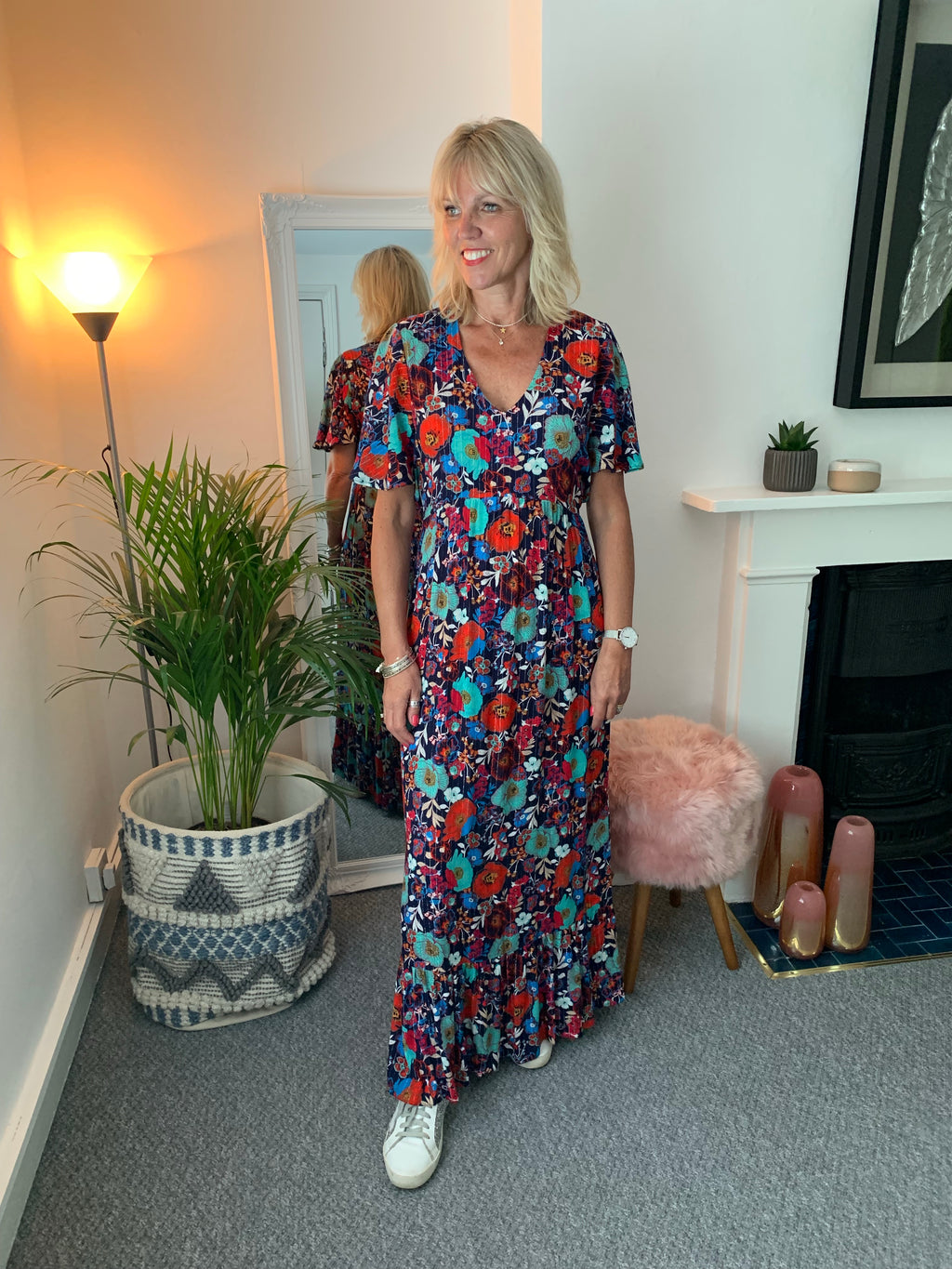 Multi Coloured Maxi Dress