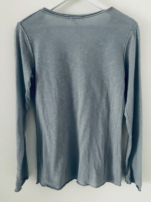 Long Sleeve Grey Star Tee