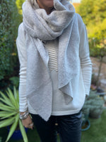 Super Soft and Warm Scarf in Grey
