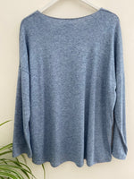 Lightweight Knit in Blue