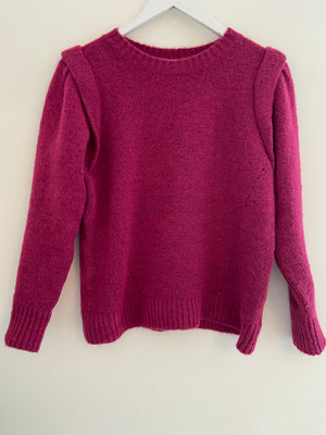 Soft Raspberry Jumper