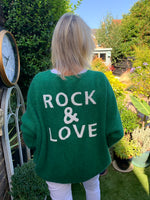 Rock & Love Cardi in Green