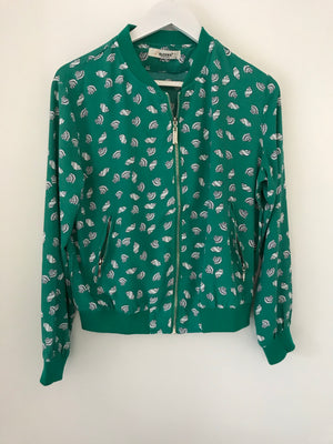 Jacket with Shell Pattern