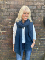 Super Soft and Warm Scarf in Navy