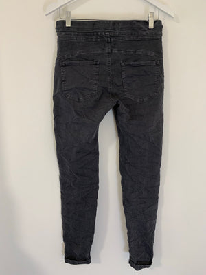 Anthracite Jean Joggers with Pockets