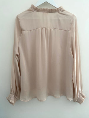 Silky Blouse in Blush