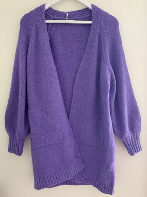 Softy Cardi in Violet