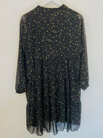 Black & Gold Constellation Dress