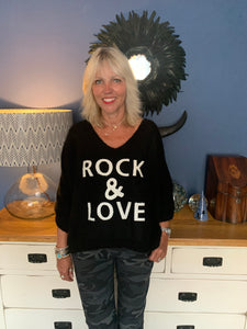 Black Rock & Love Jumper