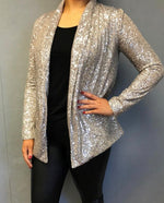 Champagne Sequin Jacket