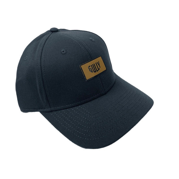 Gully patch snap back cap