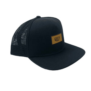 Gully patch trucker hat - Flat Peak