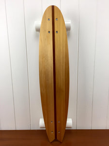NZ Kauri (Redwood inlay) - Small V-tail