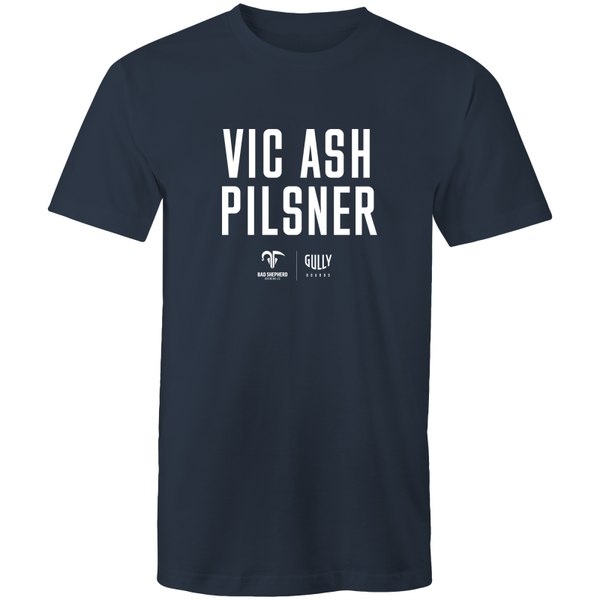 Limited edition Vic Ash Pilsner tee