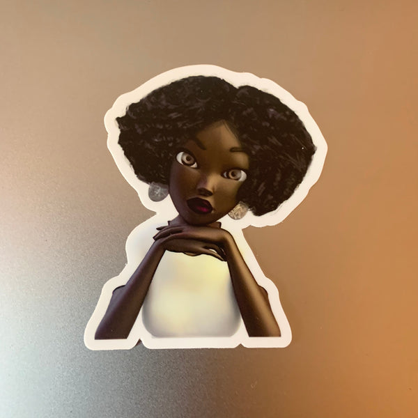 """Girl Please"" Sticker"