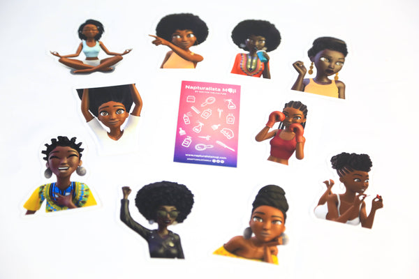 Sistahood Sticker Collection (We'll Add 2 Free Stickers)