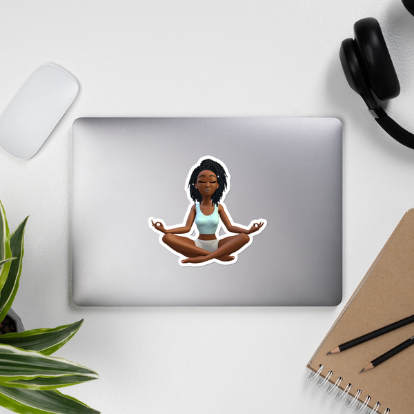 XL Namaste Sticker