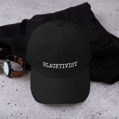 Blacktivist Dad Hat