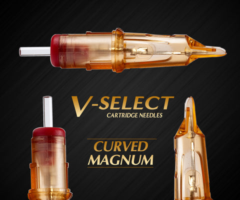 Ez V-Select Curved Magnum Cartridge Needles