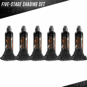 World Famous Ink 6 Bottles Five-Stage Shading Set
